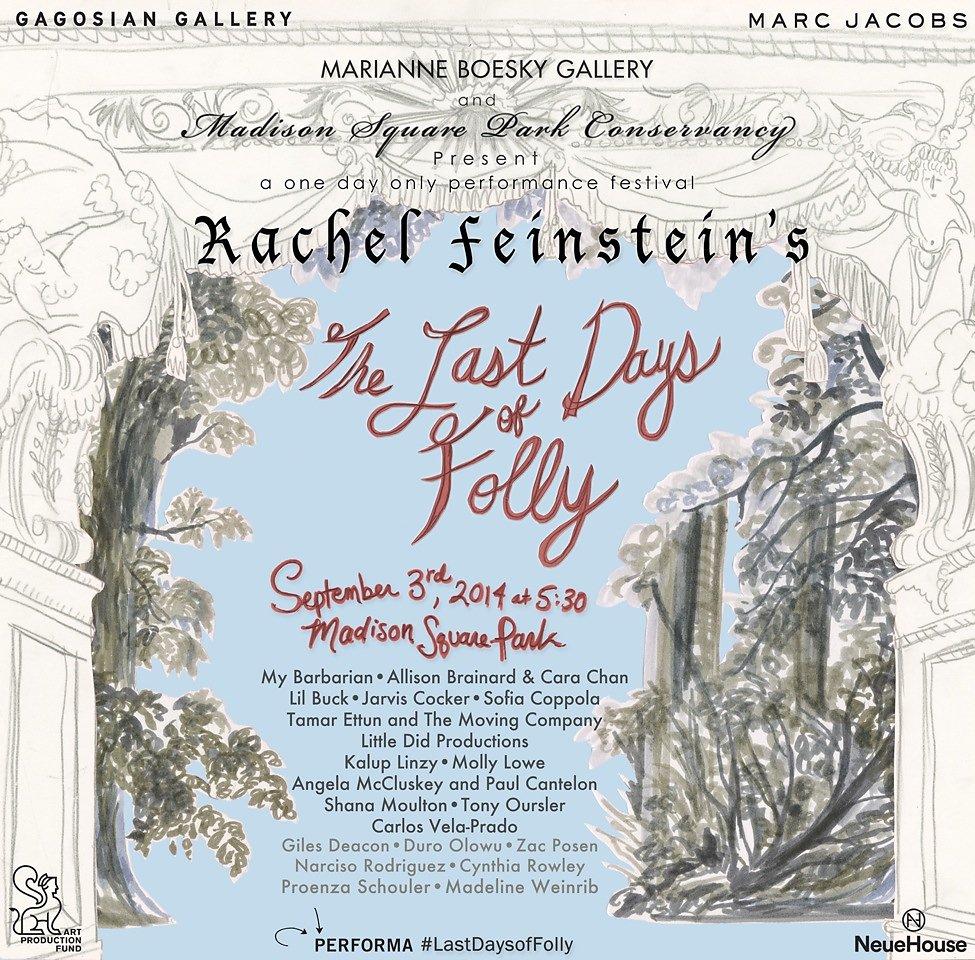 Last Days of Folly Invite